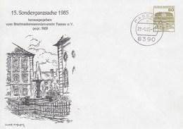 PU 117/206  15. Sonderganzsache 1985 - Briefmarkensammlerverein Paussa E.V. Gegr. 1909, Paussau 1 - BRD