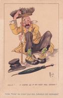 "CPA ""A Travers L'Humour"" N° 6 - Carte Humoristique - Illustrateur Mich - 1923 - Mich"