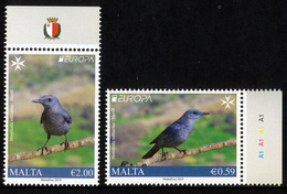"MALTA EUROPA 2019 ""National Birds"" Set Of 2v** - 2019"