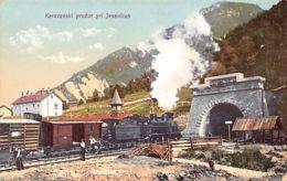 Slovenia - Karavanski Predor Pri Jesenicah - Raillway Tunnel Near Jesenice. - Slovenia