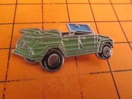 115e Pin's Pins / Beau Et Rare / THEME : AUTOMOBILES / VW VOLKSWAGEN KUBEL WAGEN - Volkswagen