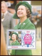 St Vincent 1986 Queen's 60th Birthday Specimen Minisheet MNH - St.-Vincent En De Grenadines