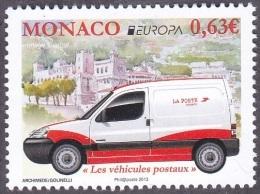 CEPT / Europa 2013 Monaco N° 2874 ** Les Véhicules Postaux - - Europa-CEPT