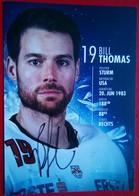Red Bull Salzburg  Bill Thomas - Handtekening