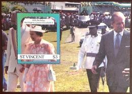 St Vincent 1986 Queen's 60th Birthday Minisheet MNH - St.-Vincent En De Grenadines