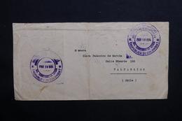 COLOMBIE - Enveloppe De La Société Des Nations De Bogota Pour Le Chili En 1934 - L 31704 - Colombia