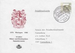 PU 117/253  1976 -Moringen 1986 - 10 Jahre Münz- Und Briefmarken-Sammlerverein, Moringen 1 - BRD