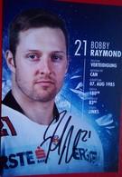 Red Bull Salzburg  Bobby Raymond - Autógrafos