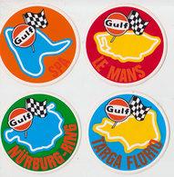 Lot 4 Autollants Circuits Formule 1 - Automobile - F1