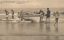 CPA - Belgique - Blankenberge - Blankenberghe - Le Service De Sauvetage - Blankenberge