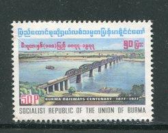 BIRMANIE- Y&T N°176- Neuf Avec Charnière * - Myanmar (Birmanie 1948-...)