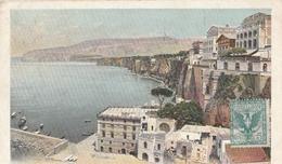 Cartolina - Postcard /  Viaggiata - Sent /  Sorrento, Hotel Vittoria. - Napoli (Naples)