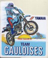 Autocollant Paris Dakar 1983  Yamaha - Car Racing - F1