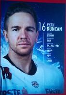 Red Bull Salzburg Ryan Duncan - Handtekening