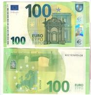 New 100 € AUSTRIA MARIO DRAGHI Q.FDS/FDS UNC-  N001A2 NZ Cod.€.258 - EURO