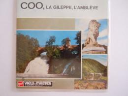 View-master Viewmaster C 3761 3762 3763 Cascade Watervallen Coo Barrage Dam Gileppe Vallée Valei L'Amblève Reels Disques - Visionneuses Stéréoscopiques