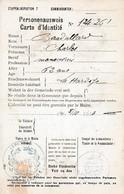 WW1 - ROCQUIGNY 1916 - AUSWEIS - Avec Tous Les VISAS De La Mairie De LA HARDOYE - Documents Historiques