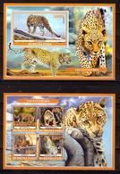 Burkina Faso, 2019. [bf1912] Fauna, Panthers - Raubkatzen