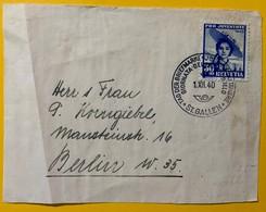 8659 - No 96 Sur Devant De Lettre Circulée  Pour Berlin Cachet Tag Der Briefmarke 1.12.1940 St.Gallen - Lettres & Documents