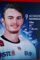 Red Bull  Salzburg  Alexander Rauchenwald - Autógrafos