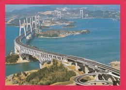Modern Post Card Of Seto Great Bridge,Honshu-Sakaide, Japan,L59. - Other