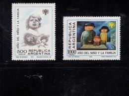 782353295 1979 SCOTT 1259 1260 POSTFRIS  MINT NEVER HINGED EINWANDFREI  (XX) -  INTL YEAR OF THE CHILD - Argentine