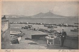 Cartolina - Postcard /  Viaggiata - Sent / Napoli, Santa Lucia. - Napoli (Naples)