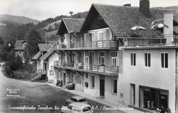 Sommerfrische Tauchen Mönichkirchen-PENSION SCHWARZ-REAL PHOTO -VIAGGIATA 1960 - Neunkirchen