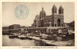 13 - Bouches-du-Rhône - Marseille - Cathédrale Et Canal Saint Jean - C 6880 - Other