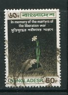 BANGLADESH- Y&T N°25- Oblitéré (fleurs) - Bangladesh