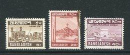 BANGLADESH- Y&T N°128 à 130- Oblitérés - Bangladesh