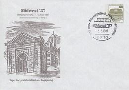 PU 117/271  Südwest '87 Briefmarkenusstellung - Rang 2 - Tag Der Philatelisten Begegnung, Frankenthal,Pflalz 1 - BRD