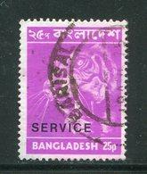 BANGLADESH- Service Y&T N°6- Oblitéré (fleurs) - Bangladesh