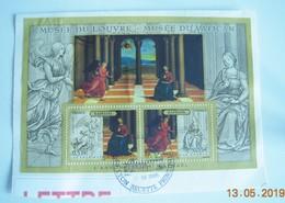 2005 - BLOC  COMPLÈT DE 2 TIMBRES OBLITÉRÉS Sans Surtaxe MUSÉE DU LOUVRE - MUSÉE DU VATICAN - Blocs & Feuillets