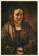Art - Peinture - Rembrandt Harmensz Van Rijn - Hendrickje Stoffels - Etat Pli Visible - Voir Scans Recto-Verso - Pittura & Quadri