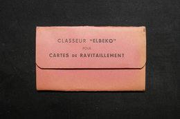 FRANCE - Classeur Elbeko Pour Cartes De Ravitaillement , Très Bon état - L 31716 - Vieux Papiers