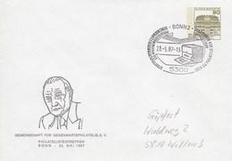 PU 117/276  Gemeinschaft Für Gegenwartsphilatelie E.V. 1987, Bonnn 2 - BRD