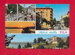 CARTOLINA VG ITALIA - Saluti Dalla SILA - Vedutine Multivue - 10 X 15 - ANN. 198? - Saluti Da.../ Gruss Aus...