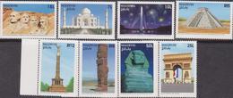 Maldive Wonders Of The World Set MNH - Architettura
