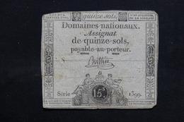 FRANCE - Lot De 11 Assignats , à Voir - L 31717 - Assignats & Mandats Territoriaux