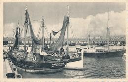 CPA - Belgique - Blankenberge - Blankenberghe - Le Port De Pêche - Blankenberge