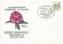 PU 117/290  Jahrestagung Augsbrug 1987 - Deutsche Dendrologische Gesellschaft Gegründet 1892, Kiel 1 - BRD