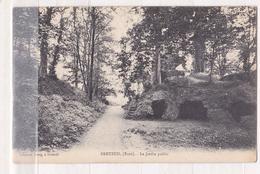 FRANCE BRETEUIL LE JARDIN PUBLIC  SOUS ETUI PLASTIQUE - Breteuil