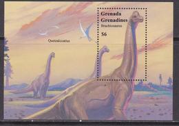 Grenada Grenadine Dinosauri Dinosaurs Prehistoric Animals - Archeologia