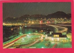 Modern Post Card Of Hong Kong Island And Kowloon`s Jordan Road,China (Hong Kong),L59. - China (Hong Kong)