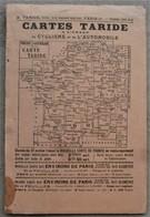 Grande Carte De L'ALSACE LORRAINE TARIDE  1/300.000e - Cartes Routières