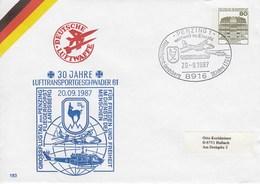 PU 117/293  30 Jahr Lufttransportgeschader 61 - Grossflugtag 1987, Penzing 1 - BRD