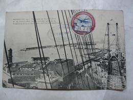 CPA 13 BOUCHES DU RHONE - MARSEILLE : Panorama Du Fort St Jean  - Plateforme Du Transbordeur - Joliette, Hafenzone
