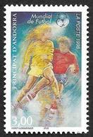 ANDORRE  1998 -  YT 503 - Football 98  - NEUF** - Cote  2.10e - Andorre Français