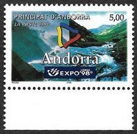 ANDORRE  1998 -  YT 505  -  Expo 98 - NEUF** - Cote  3e - Andorre Français